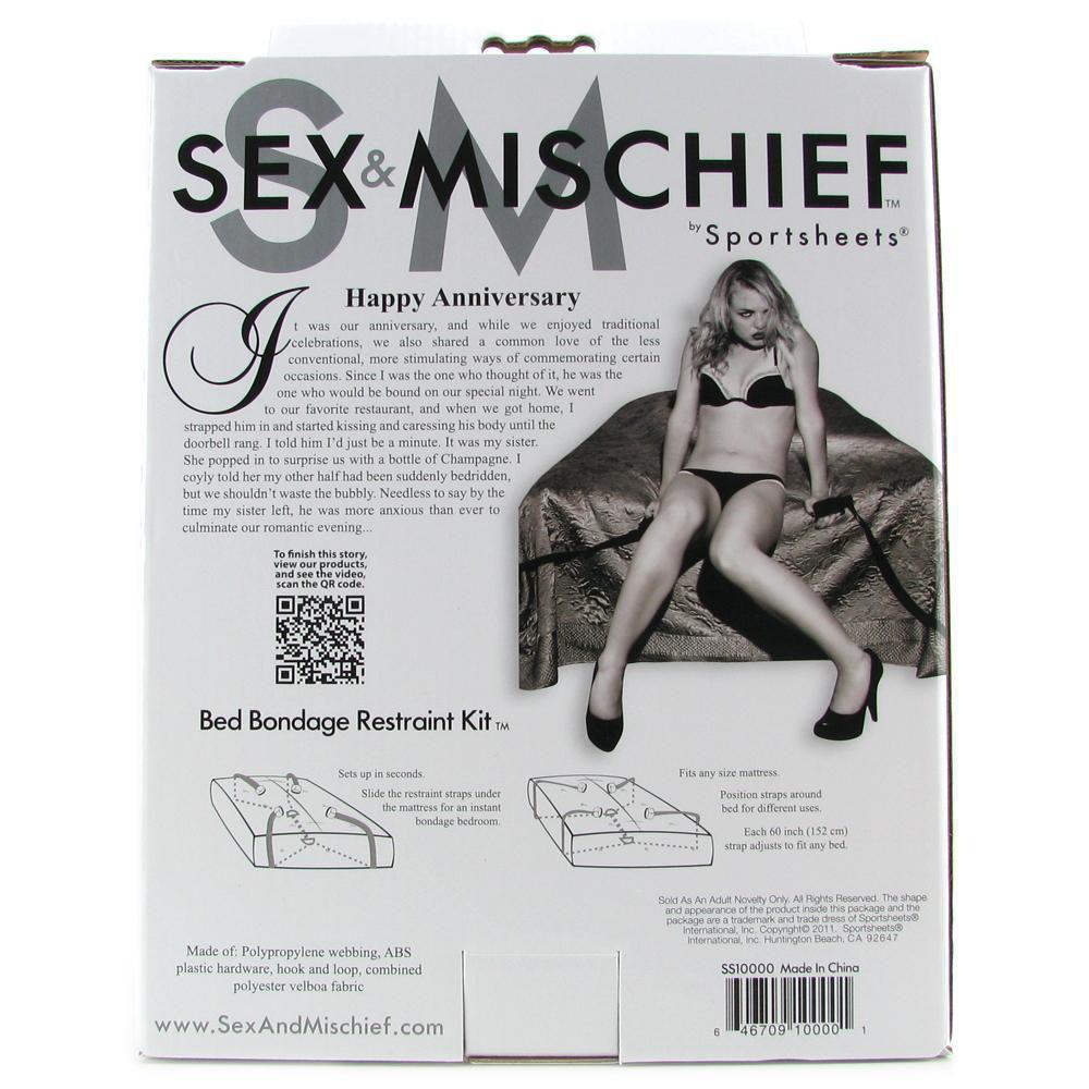 Image de Sex & Mischief Bed Bondage Restraint Kit