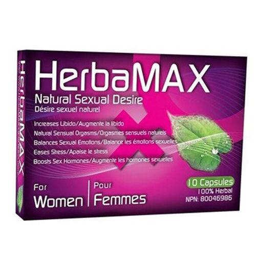 HERBAMAX-WOMAN-10-CAPSULS
