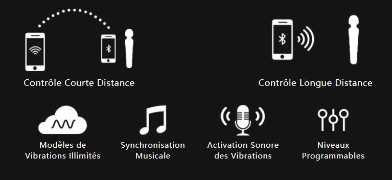 Image de Lovense – Domi 2 – Bluetooth Wand – Black