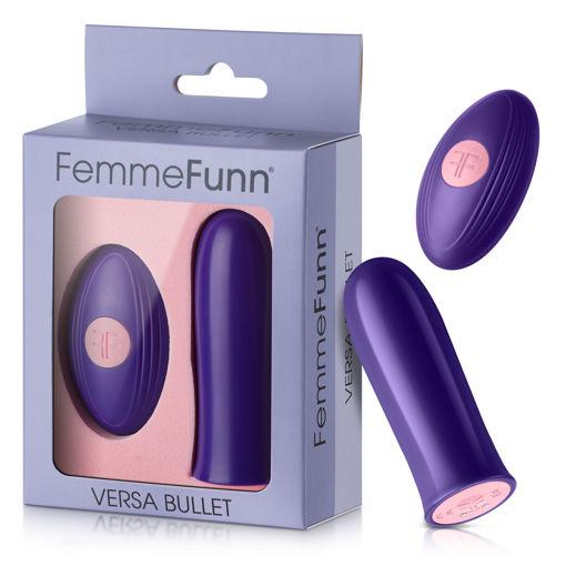 Image de Femmefunn - Versa Bullet With Remote- Dark Purple