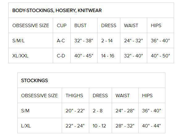 Image de 810- STO - Premium Lace Stockings - L/XL