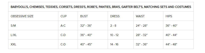 Image de 853-GAR - Garter Belt & Matching Thong - L/XL
