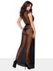 Image de 876-PEI-1 - Elegant Long Robe & Matching Thong - S/M