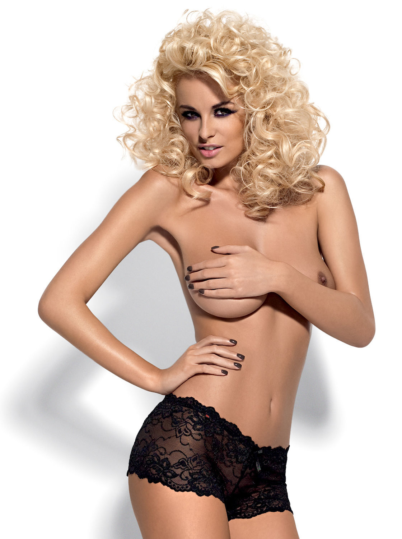 Image de Idillia - Lace Booty Shorts - XXL