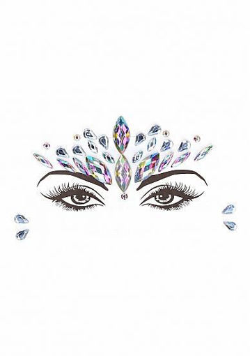 Image de Dazzling Crowned Face Bling Sticker