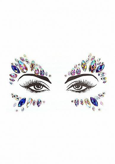 Image de Dazzling Eye Sparkle Bling Sticker
