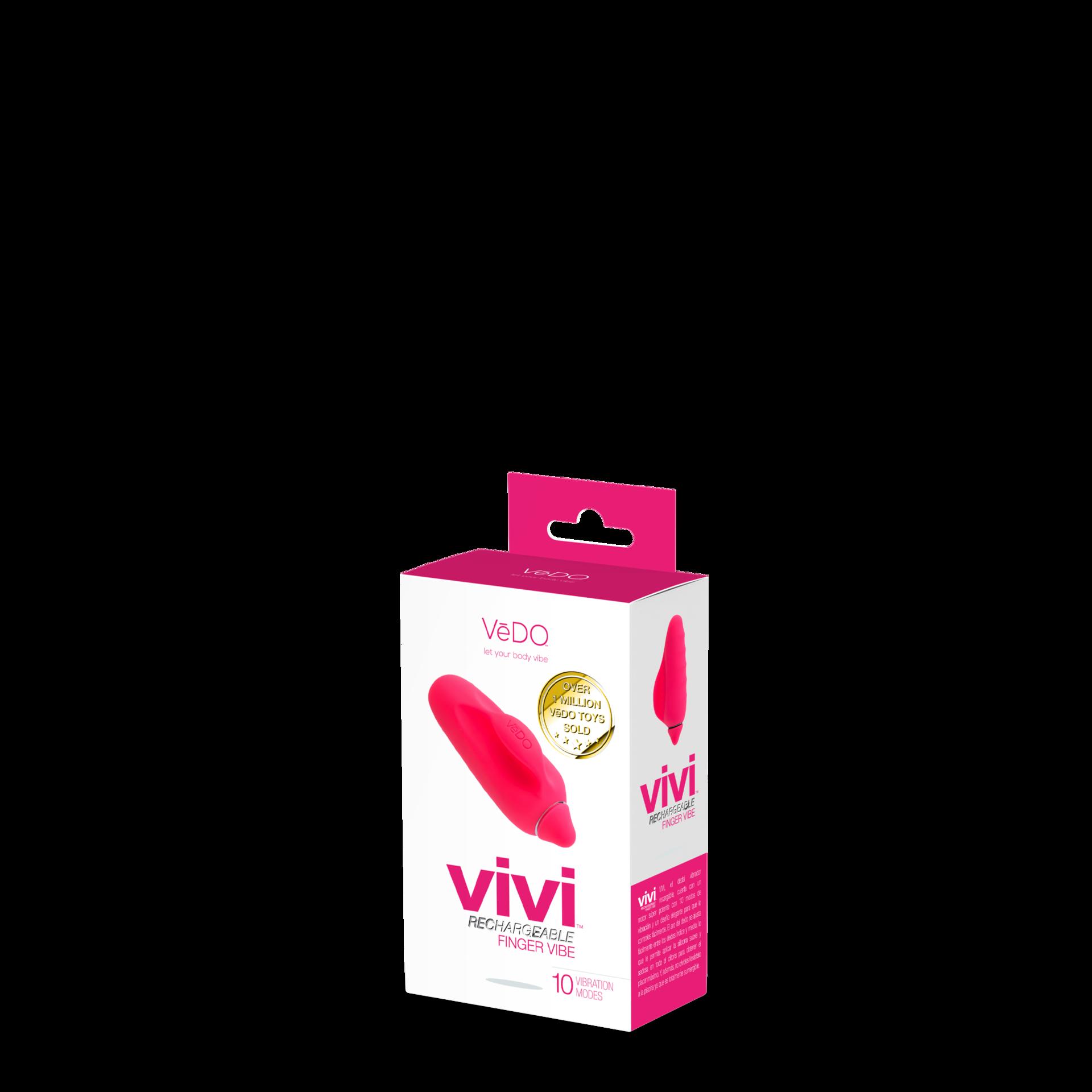 Image de Vivi Rechargeable Finger Vibe- Pink